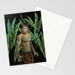Alocasia Heterophylla Stationery Cards