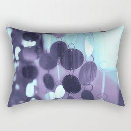 GLAM CIRCLES #Mint/Blue #1 Rectangular Pillow