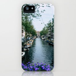 Charming Amsterdam iPhone Case