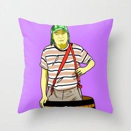 El Chavo Del Ocho pop art Throw Pillow