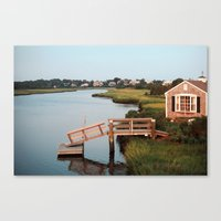 cape cod Canvas Prints featuring Cape Cod by Eric Danger Palmer