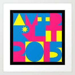 Avid RLT 2015 Deko Art Print