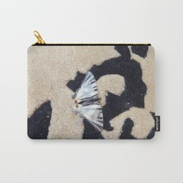 Butterfly machaon sitting on the carpet Carry-All Pouch