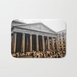 Agrippa built the Pantheon Bath Mat