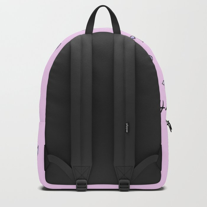 Happy Birthday Unicorn (rose/pink) Backpack