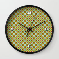 chinese Wall Clocks featuring Chinese Festival by Peter Gross
