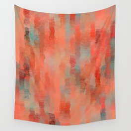 Coral Mirage Wall Tapestry