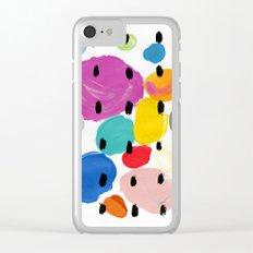Bernard Pattern Clear iPhone Case