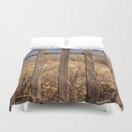 Fence to the Sky! Duvet Cover
