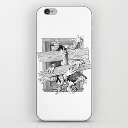 zombies iPhone Skin