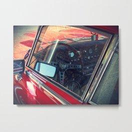 Red jag, Red car Metal Print