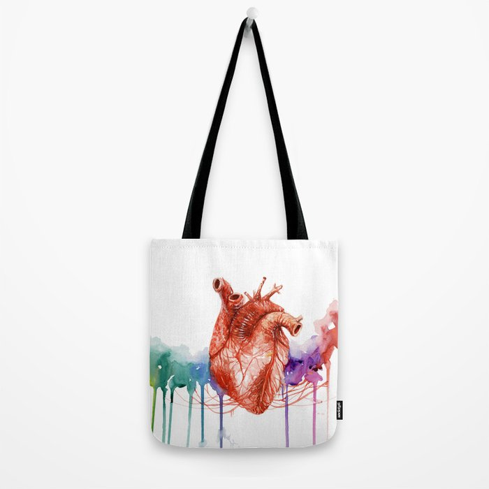Let your heart lead the way Tote Bag