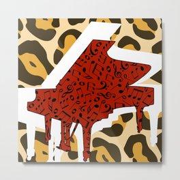 Jazz It Up Piano No border Metal Print