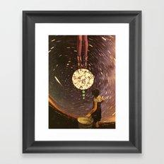 cosmic reign Framed Art Print