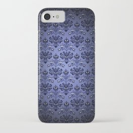 Beauty Haunted Mansion Wallpaper Stretching Room iPhone Case