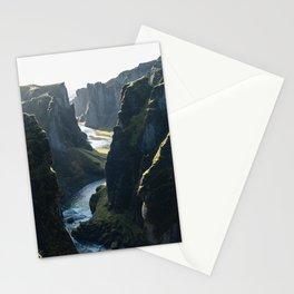 Fjaðrárgljúfur II (Landscape) Stationery Cards
