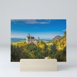 Gorgeous Gracious Fairytale Neuschwanstein Castle Schwangau Bavaria Germany Europe Ultra HD Mini Art Print