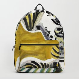 Pablo Picasso - Man's head - Digital Remastered Edition Backpack