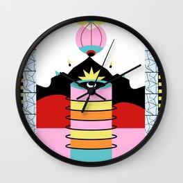 mental breakdown Wall Clock