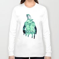 zayn malik Long Sleeve T-shirts featuring Zayn Malik / One Direction by Justified
