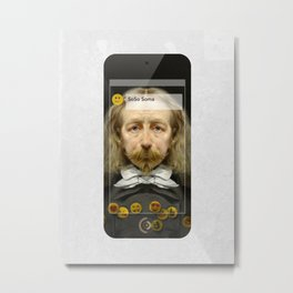 SoSo Soma (MetaPhone) Metal Print