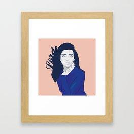 Lorde Framed Art Print