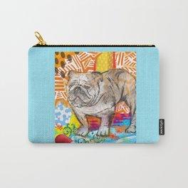 Bulldog pop art Carry-All Pouch