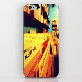 You help me. iPhone Skin