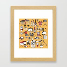 'Juno' Framed Art Print