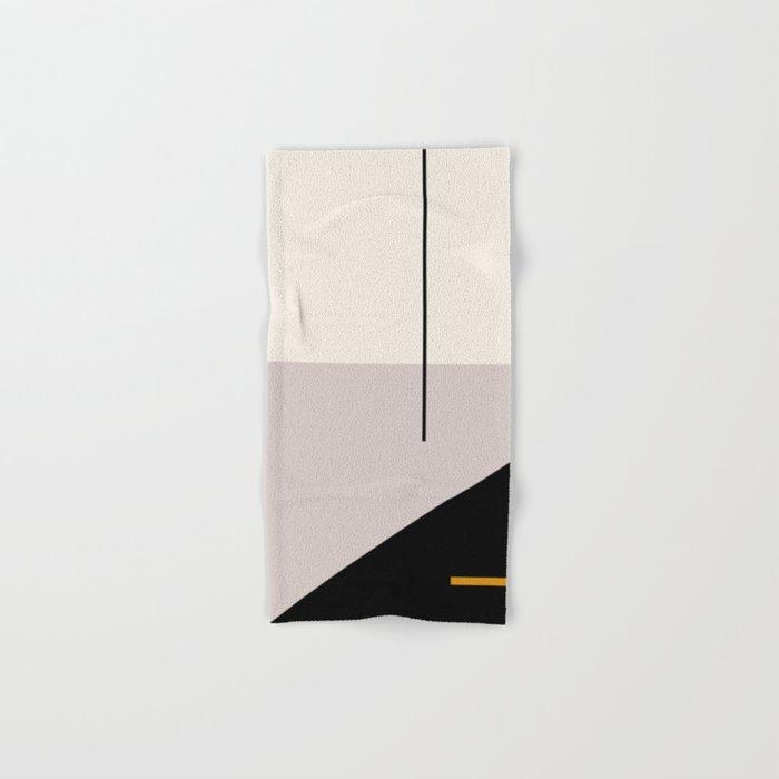 abstract minimal 28 Hand & Bath Towel