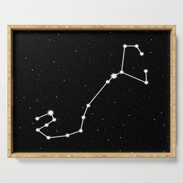 Scorpio Star Sign Night Sky Serving Tray