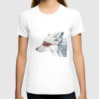 coyote T-shirts featuring Coyote I by Susana Miranda ilustración