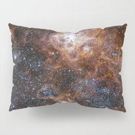 Tarantula Nebula in the Large Magellanic Cloud Pillow Sham