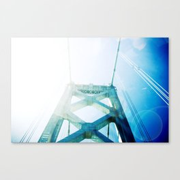 oakland bay bridge  Canvas Print