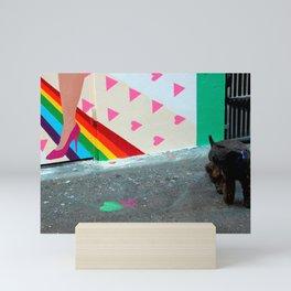 The End Of The Rainbow Mini Art Print
