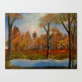Autumnal Augur Canvas Print