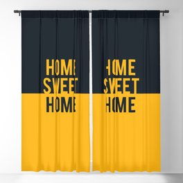 Home Sweet Home Pittsburgh Blackout Curtain
