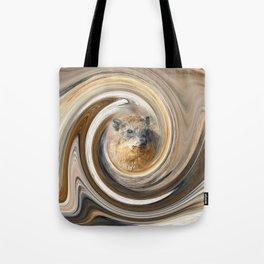 African Rock Hyrax Tote Bag