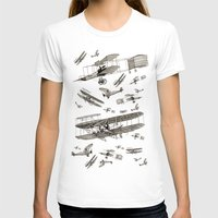 airplanes T-shirts featuring airplanes 2 by Кaterina Кalinich