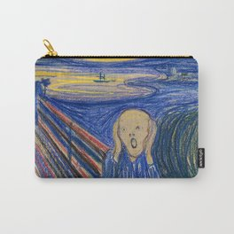 The Scream by Edvard Munch Carry-All Pouch