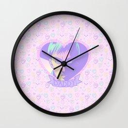 Commander Daddy Wall Clock