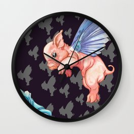 The Impossibility of Spring Wall Clock