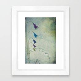 Reserved Seating Framed Art Print