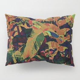 Flora Celeste Golden Sapphire Pillow Sham