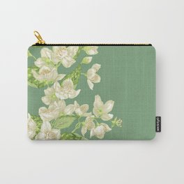 Jasmine Branch Decor Carry-All Pouch