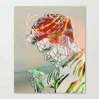 niall Canvas Prints featuring Geometric Niall by Peek At My Dreams