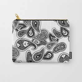 Jiggy Paisley Spirals Carry-All Pouch