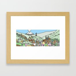 Quito Framed Art Print