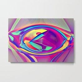 The eye of nosiness Metal Print