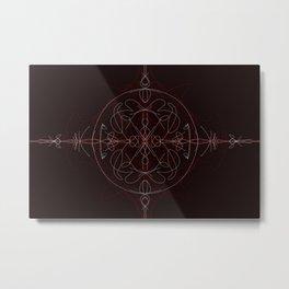 Lustrous Dimension Metal Print